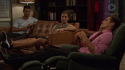 Mark Brennan, Tyler Brennan, Aaron Brennan in Neighbours Episode 7379