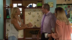 Steph Scully, Toadie Rebecchi, Sonya Rebecchi in Neighbours Episode 7380