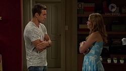 Aaron Brennan, Xanthe Canning in Neighbours Episode 7380