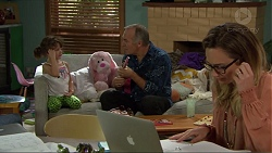 Nell Rebecchi, Walter Mitchell, Sonya Mitchell in Neighbours Episode 7380