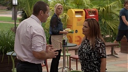 Toadie Rebecchi, Lauren Turner, Terese Willis in Neighbours Episode 7380