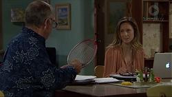 Walter Mitchell, Sonya Rebecchi in Neighbours Episode 7380