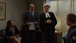 Terese Willis, Karl Kennedy, Karen Harding, Mark Brennan in Neighbours Episode 7381