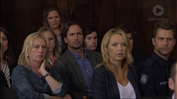 Lauren Turner, Terese Willis, Brad Willis, Steph Scully, Mark Brennan in Neighbours Episode 7381