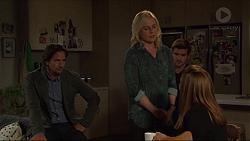 Brad Willis, Lauren Turner, Ned Willis, Terese Willis in Neighbours Episode 7382