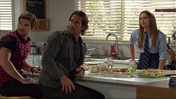 Ned Willis, Brad Willis, Piper Willis in Neighbours Episode 7382
