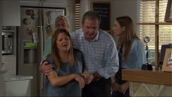 Lauren Turner, Terese Willis, Karl Kennedy, Piper Willis in Neighbours Episode 7383