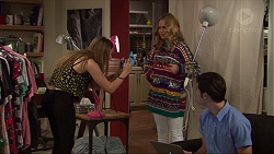 Piper Willis, Xanthe Canning, Ben Kirk in Neighbours Episode 7383
