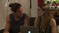 Tyler Brennan, Piper Willis in Neighbours Episode 7383