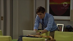 Angus Beaumont-Hannay in Neighbours Episode 7383