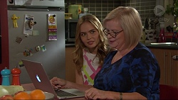 Xanthe Canning, Sheila Canning in Neighbours Episode 7383