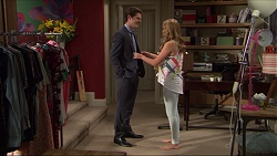 Ben Kirk, Xanthe Canning in Neighbours Episode 7383