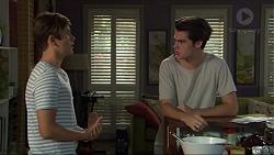 Angus Beaumont-Hannay, Ben Kirk in Neighbours Episode 7384