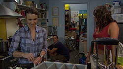 Amy Williams, Jack Callaghan, Paige Novak in Neighbours Episode 7384