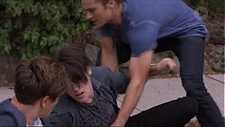 Angus Beaumont-Hannay, Ben Kirk, Tyler Brennan in Neighbours Episode 7384