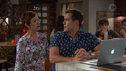 Susan Kennedy, Aaron Brennan in Neighbours Episode 7384