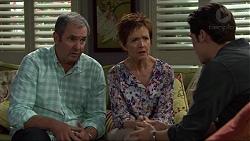 Karl Kennedy, Susan Kennedy, Ben Kirk in Neighbours Episode 7384