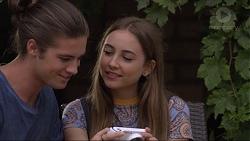 Tyler Brennan, Piper Willis in Neighbours Episode 7384
