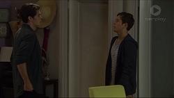 Ben Kirk, Angus Beaumont-Hannay in Neighbours Episode 7384
