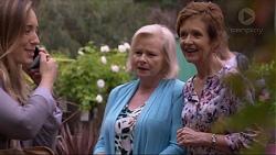 Sonya Rebecchi, Sheila Canning, Susan Kennedy in Neighbours Episode 7385