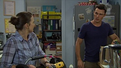 Amy Williams, Jack Callahan in Neighbours Episode 7385