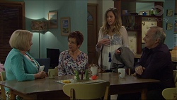 Sheila Canning, Susan Kennedy, Sonya Mitchell, Walter Mitchell in Neighbours Episode 7385
