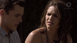 Jack Callaghan, Paige Novak in Neighbours Episode 7386