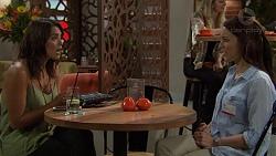 Paige Novak, Megan Cooper in Neighbours Episode 7386