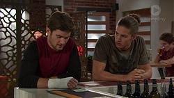 Ned Willis, Tyler Brennan in Neighbours Episode 7386