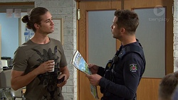 Tyler Brennan, Mark Brennan in Neighbours Episode 7387