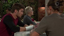 Ned Willis, Tyler Brennan in Neighbours Episode 7387