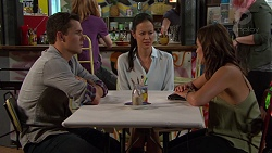 Jack Callaghan, Wendy Iris, Paige Novak in Neighbours Episode 7387