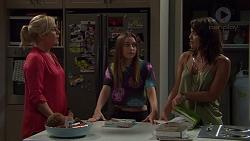Lauren Turner, Piper Willis, Paige Smith in Neighbours Episode 7388