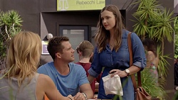 Steph Scully, Mark Brennan, Amy Williams in Neighbours Episode 7389