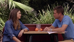 Amy Williams, Mark Brennan in Neighbours Episode 7389