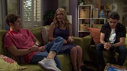 Angus Beaumont-Hannay, Xanthe Canning, Ben Kirk in Neighbours Episode 7389