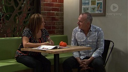 Terese Willis, Walter Mitchell in Neighbours Episode 7390