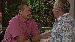 Toadie Rebecchi, Walter Mitchell in Neighbours Episode 7390