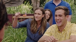 Amy Williams, Aaron Brennan in Neighbours Episode 7390