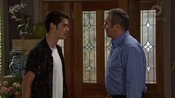 Ben Kirk, Karl Kennedy in Neighbours Episode 7391