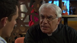 Jack Callaghan, Father Peter McKinnon in Neighbours Episode 7391