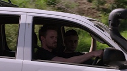 Danny Black, Rick Harrison in Neighbours Episode 7392