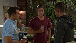 Aaron Brennan, Tyler Brennan, Mark Brennan in Neighbours Episode 7392