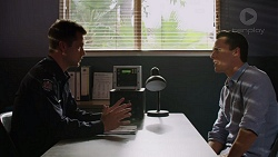 Mark Brennan, Jack Callaghan in Neighbours Episode 7393