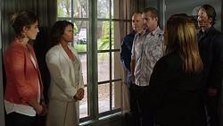 Sonya Mitchell, Julie Quill, Walter Mitchell, Toadie Rebecchi, Terese Willis, Brad Willis in Neighbours Episode 7393