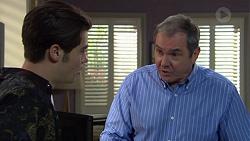 Ben Kirk, Karl Kennedy in Neighbours Episode 7393