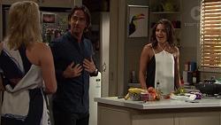 Lauren Turner, Brad Willis, Paige Novak in Neighbours Episode 7393