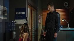 Paige Novak, Mark Brennan in Neighbours Episode 7393