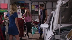 Madison Robinson, Piper Willis, Tyler Brennan in Neighbours Episode 7396