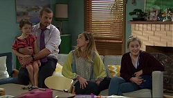 Nell Rebecchi, Toadie Rebecchi, Sonya Mitchell, Zoe Mitchell in Neighbours Episode 7396